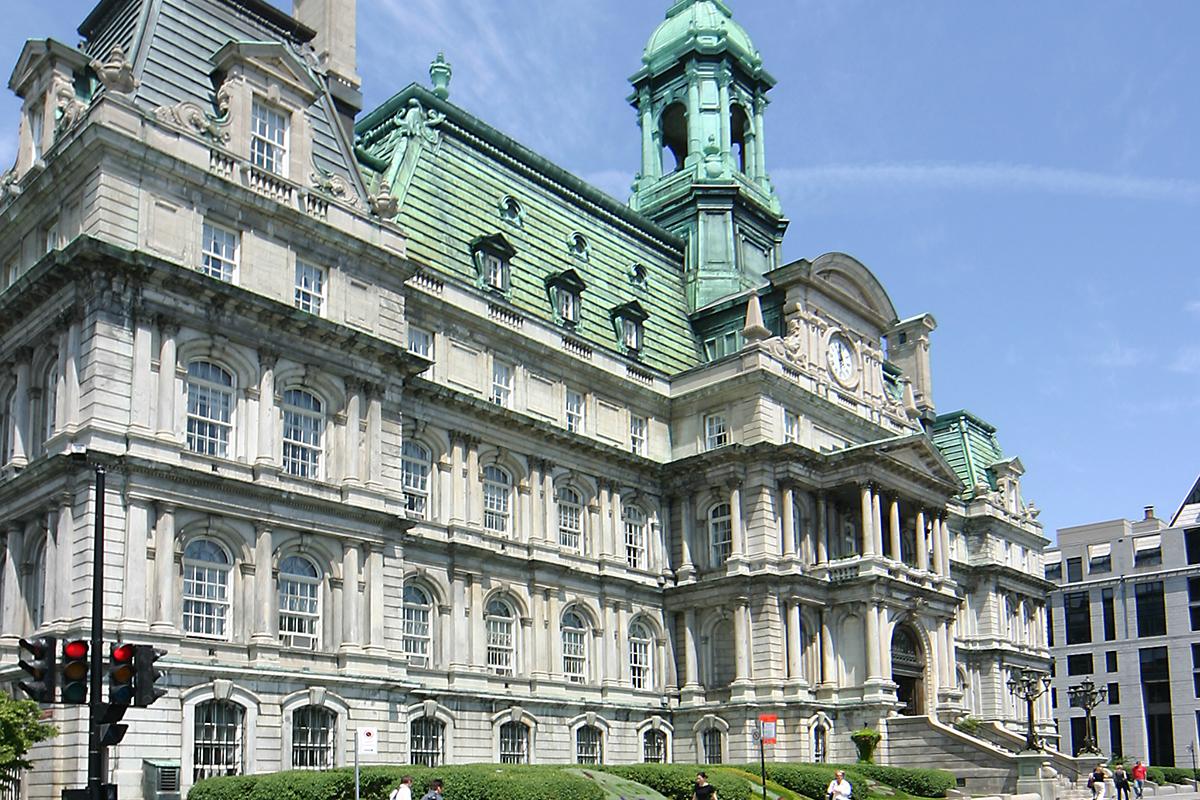 Restauration de la Salle du Conseil de l'Hôtel de Ville de Montréal
